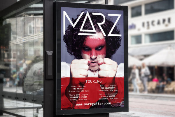 MARZ Poster Campaign
